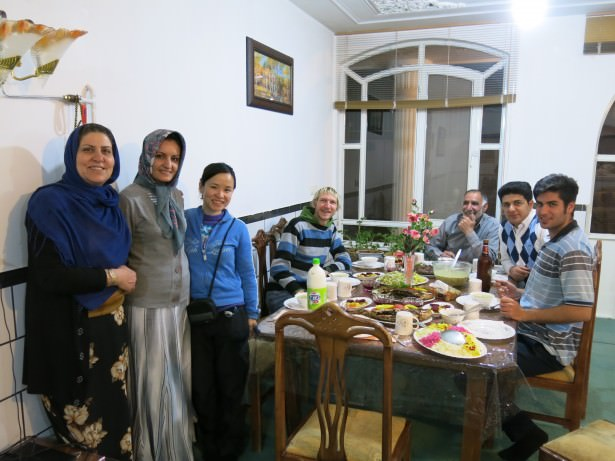 Amazing Iranian Hospitality: The Longest Night Dinner in Shahr-e Kord, Iran