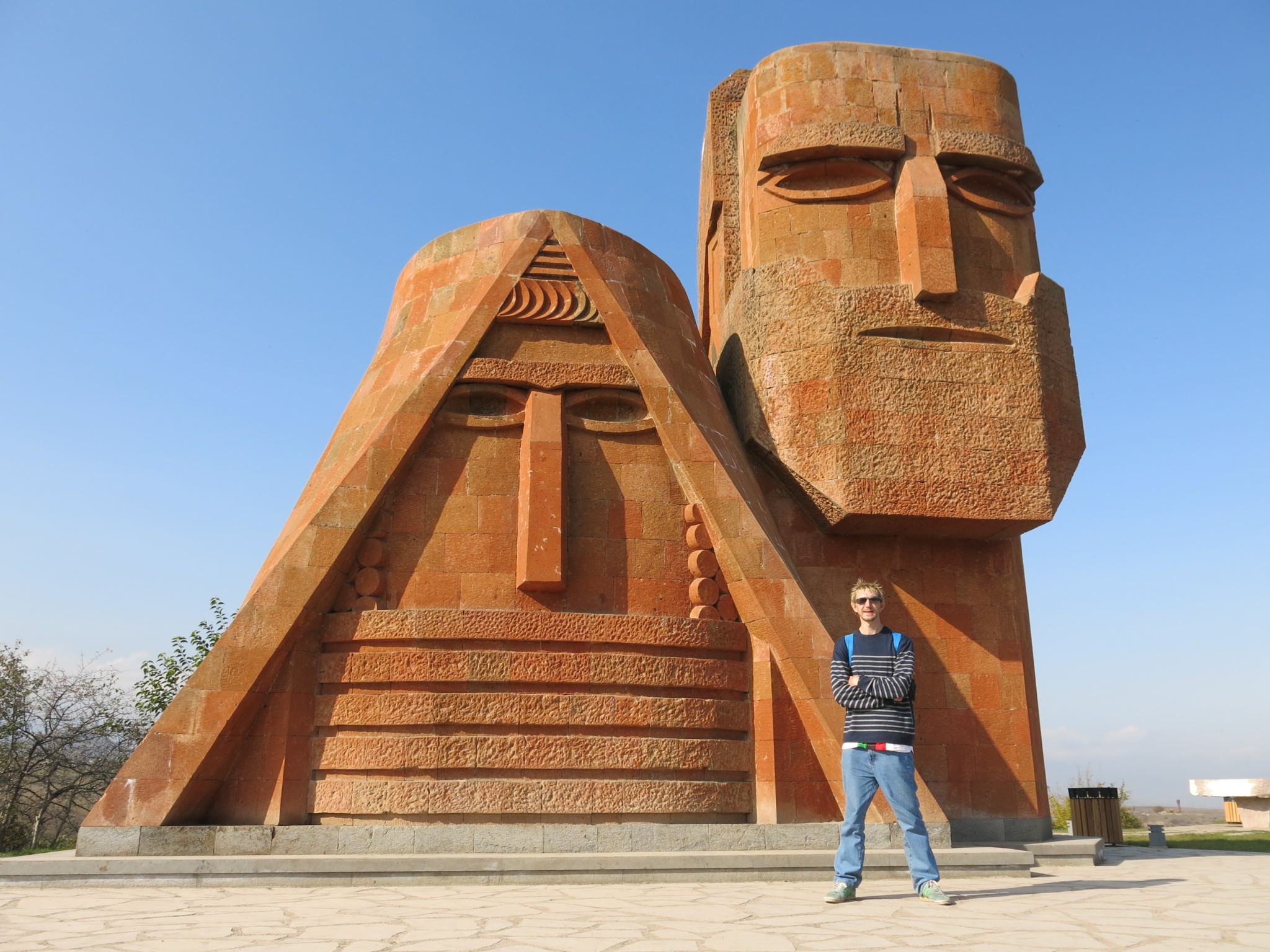 backpacking in stepanakert