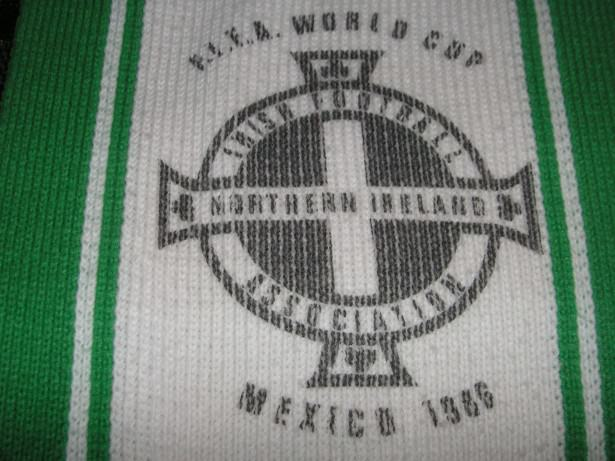 mexico 86 scarf northern ireland