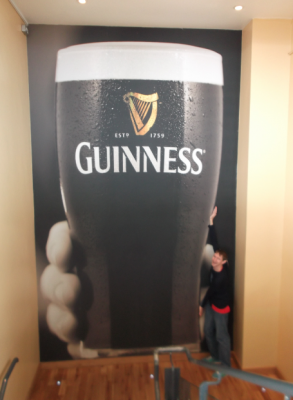 Backpacking in the Republic of Ireland?? Must be Guinness time!