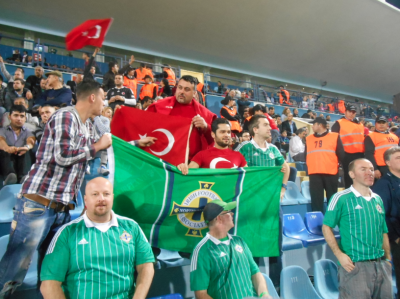 Turkey and NI fans