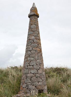 The Obelisk on Herm