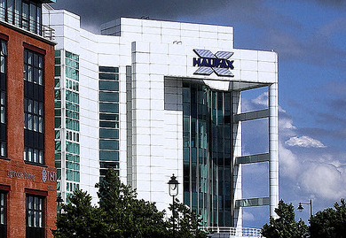 The Halifax Building in Belfast, Northern Ireland where I once worked.