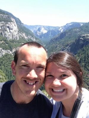 Heather and Chris at Yosemite.