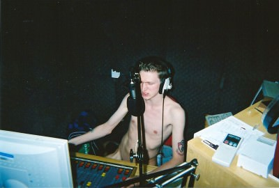 The Day I did an FM Radio Show Naked in Bournemouth, England