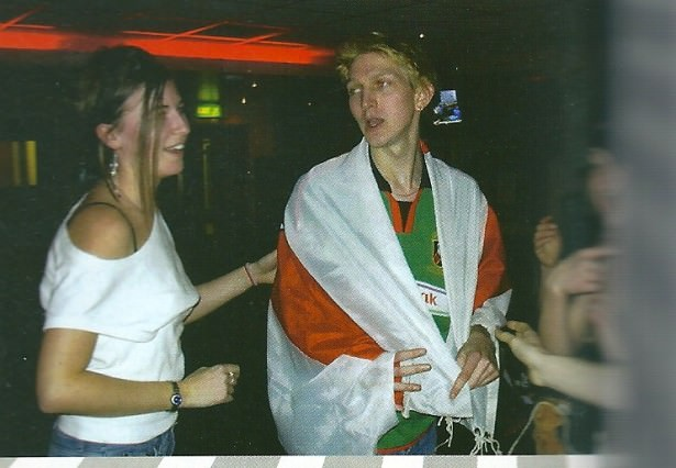 "Starring in the Lock In, Bournemouth University's ""Big Brother"", 2004."