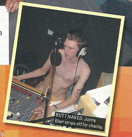I was naked in the university magazine the following month too.
