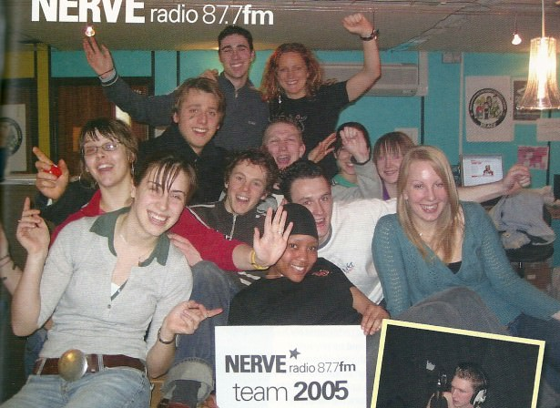 The Nerve Radio team of 2005