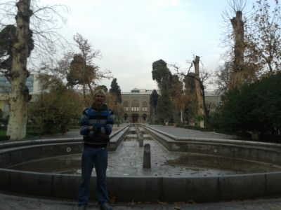 tehran backpacking golestan palace