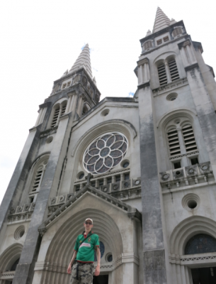 Backpacking in Fortaleza - the Cathedral