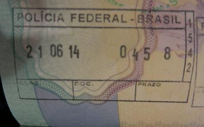 exit stamp brazil