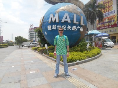 Backpacking through Da Lang in Guangdong Province, China