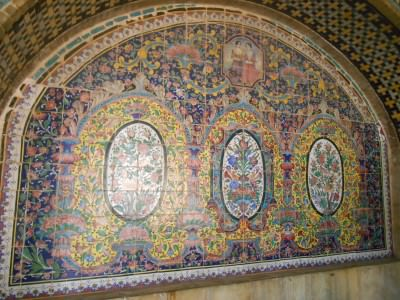 backpacking iran golestan palace