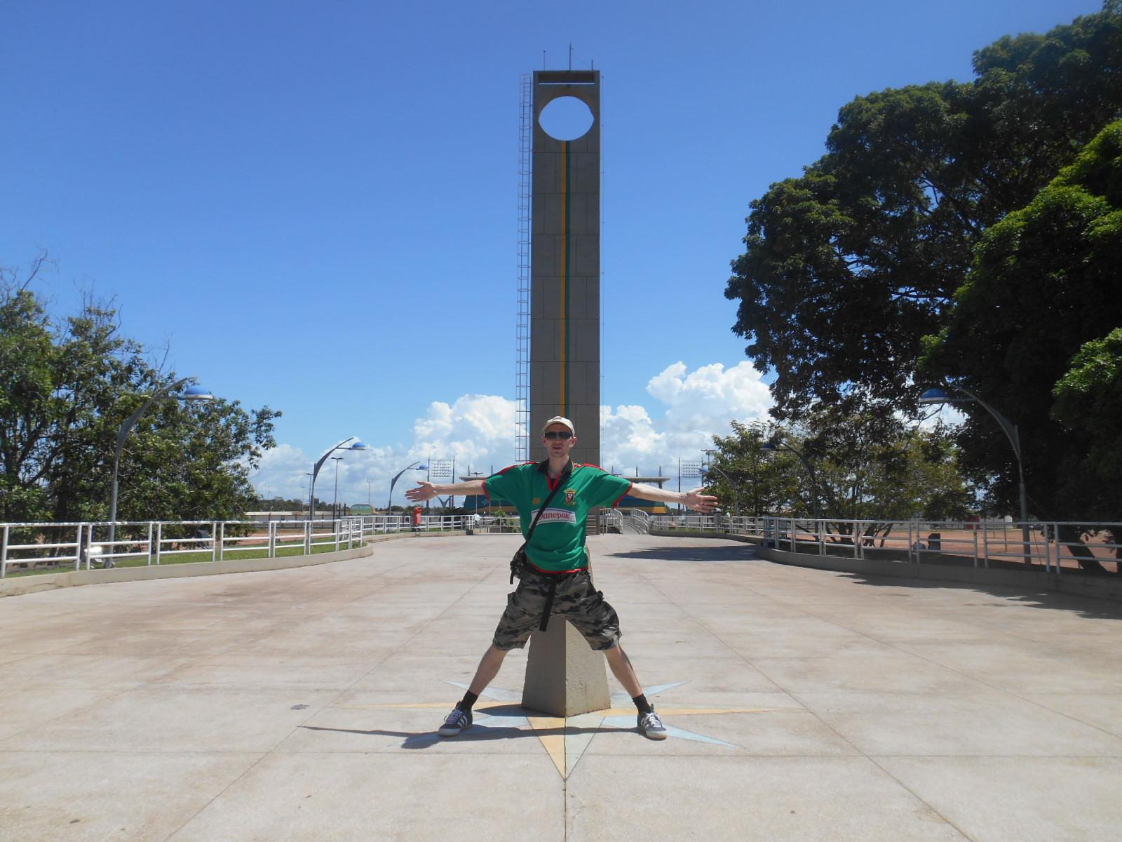 equator in macapa brazil