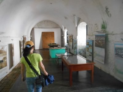 The museum part of the fort.