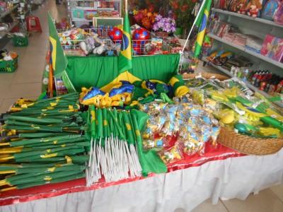 Souvenirs in Macapa, Brazil.
