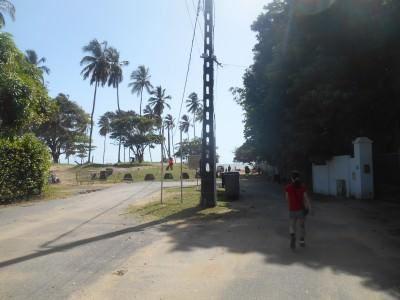 Heading down to the Novotel beach