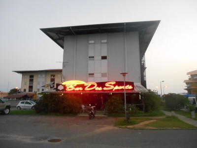 Bar des Sports - a night out in Kourou, French Guyana.