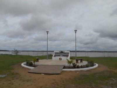 Memorial by the beach
