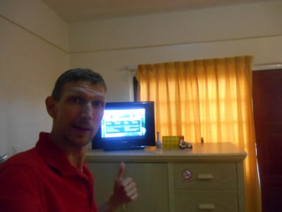 41 not out!! Watching the last group matches in the 2014 World Cup in my 41st different place, in Paramaribo, Suriname.