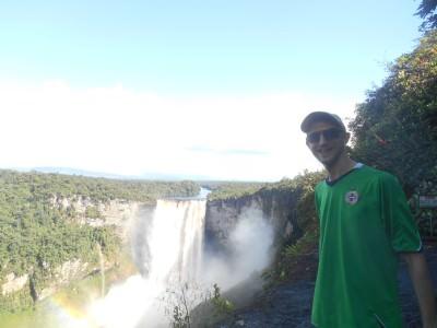 Jonny Blair guyana waterfalls