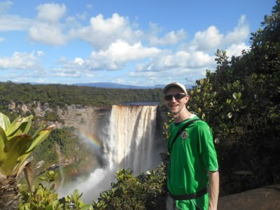 At the Boy Scouts Viewing Point for Kaieteur Falls