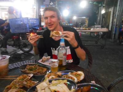 Loving the night market in Da Lang