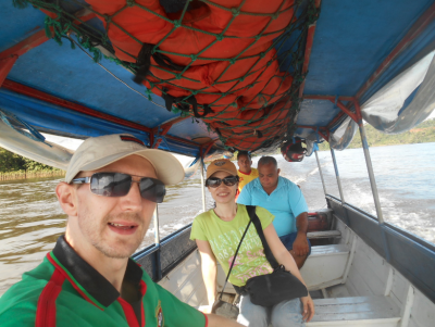 The crossing from Brazil to French Guyana is a cool one to do but not very touristy at all!
