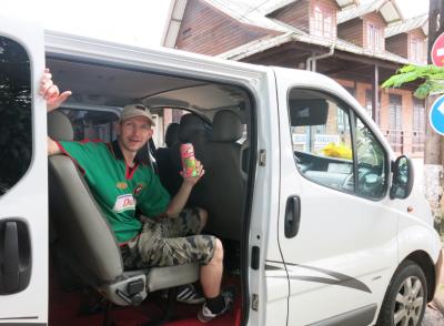 french guyana minibus