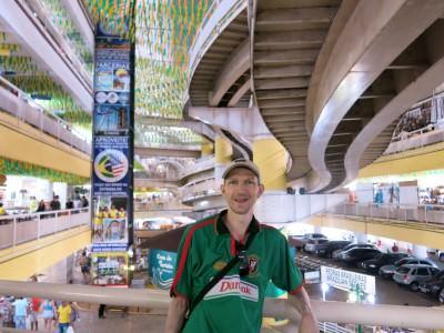 Inside the Mercado Central in Fortaleza.