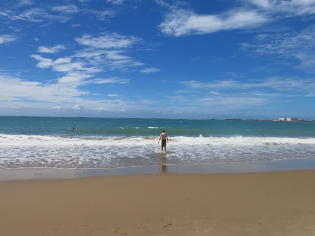 fortaleza backpacking beach