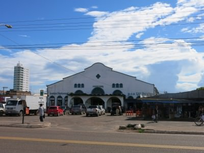 The market in Macapa, Brazil.