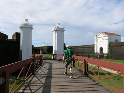 Backpacking in Macapa, Brazil.