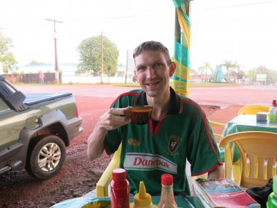Breakfast bar in Oiapoque where I caught some brief highlights before crossing the border into French Guyana.