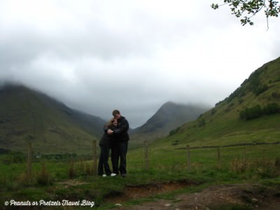 World Travellers - Peanuts or Pretzels, Josh & Liz exploring the Scottish Highlands
