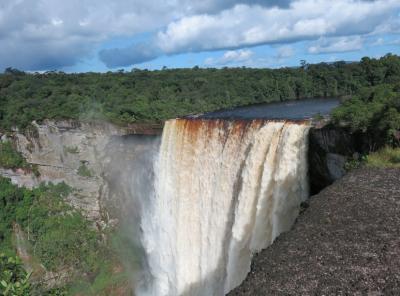 height of kaieteur falls