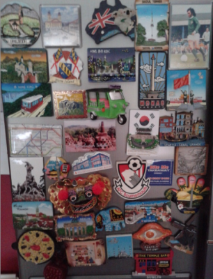 Travel Collectables: My Mums Fridge Magnets