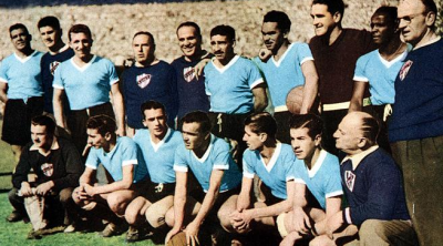 Uruguay won it in 1950 in Brazil.