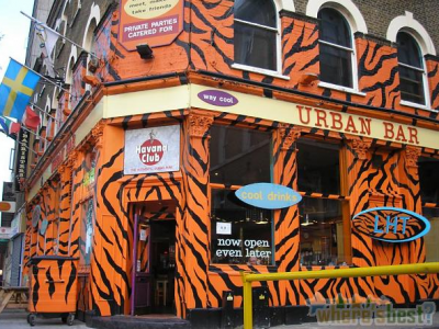 The Urban Bar in Whitechapel, photo from Wheresbest.co.uk