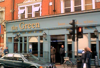 The Green in Sheppy B - this was once my local.