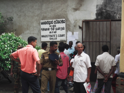 Backpacking in Galle - Galle Magistrates Court
