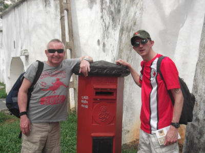 galle backpacking post box