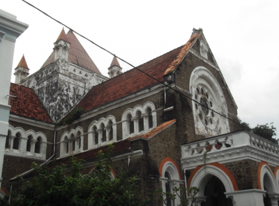 Backpacking in Galle - Dutch Reformed Church