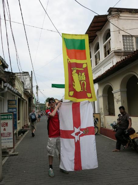 northern irish flag sri lanka