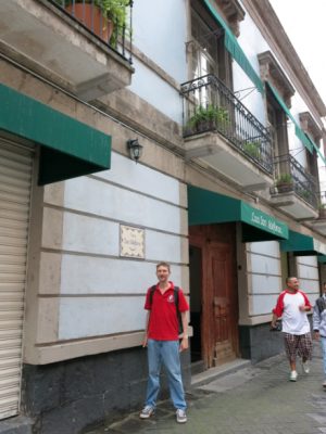 Casa San Ildefonso is on a quiet street in the Historic Centre