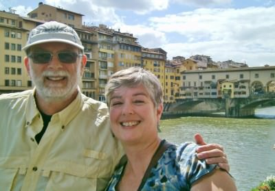 World Travellers: Chris and Danila in Florence - Not Dun Roamin'