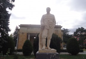 This; A visit to Stalin's Town: Gori in Georgia.