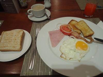 Breakfast in S33 Compact Hotel in Bangkok