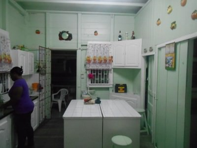 Kitchen in Rima Guesthouse