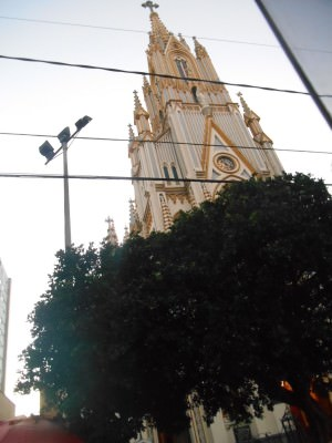 A church in Belo Horizonte.
